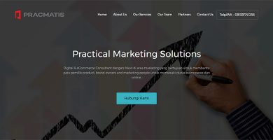 Website Digital Marketing – PRACMATIS