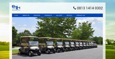 Website Jual Mobil Golf – CV Rizha Multiguna Karya