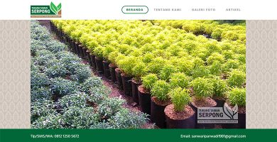 Website Tukang Taman Serpong