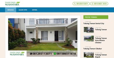Website Tukang Taman Nusantara