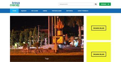 Website Informasi Daerah – Kroyacilacap.com