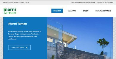 Website Tukang Taman – Marni Taman