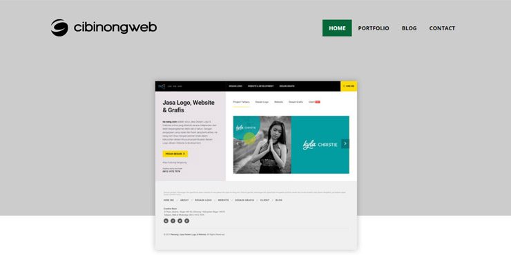 pembuatan website cibinong