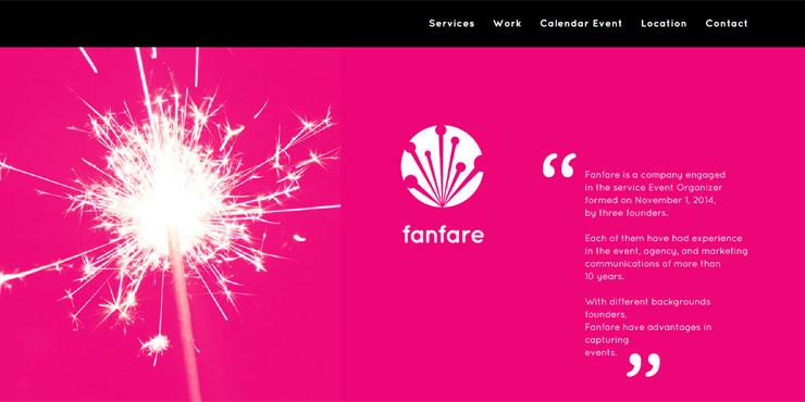 jasa pembuatan website fanfare indonesia