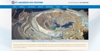 Pembuatan Website Produk Industri – PT. Anugerah Ika Pratama
