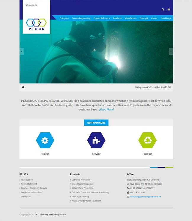 jasa pembuatan website sendang berlian sejahtera