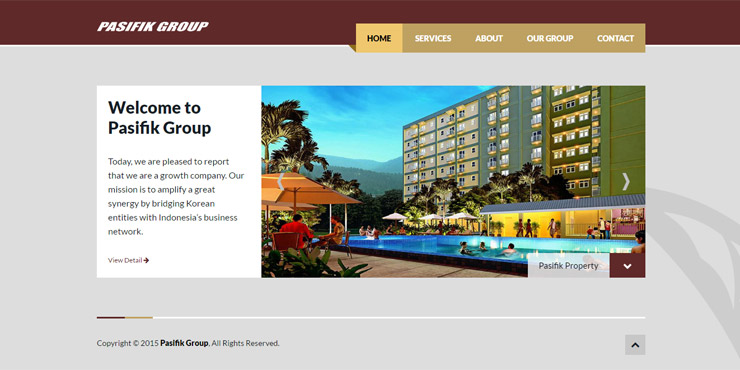 jasa pembuatan website pasifik group