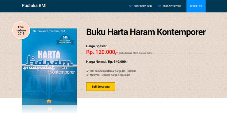 jasa pembuatan website pustaka bmi