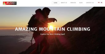 Pembuatan Website Adventure Plus Indoensia (APLUSINDO)