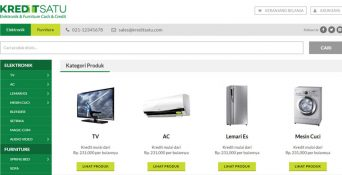 Pembuatan Website KreditSatu.com