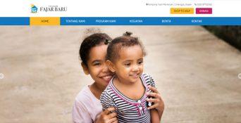 Pembuatan Website Yayasan Fajar Baru