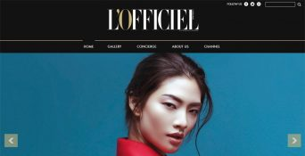 Pembuatan Website L'Officiel Indonesia