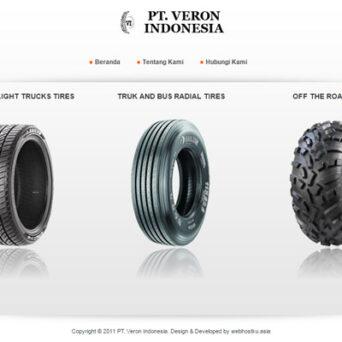 Desain Website Veron Indonesia