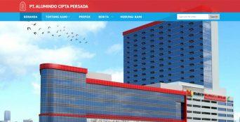 Pembuatan Website PT. Alumindo Cipta Persada