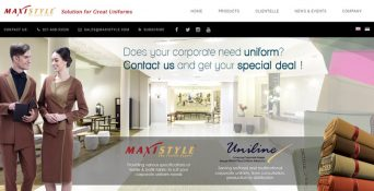 Fashion Website – Maxistyle