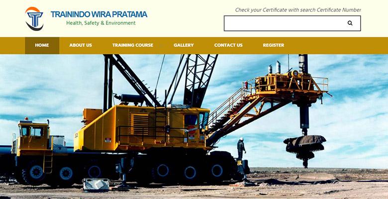 website sertifikasi