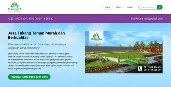 Website Taman – Mahkota Taman