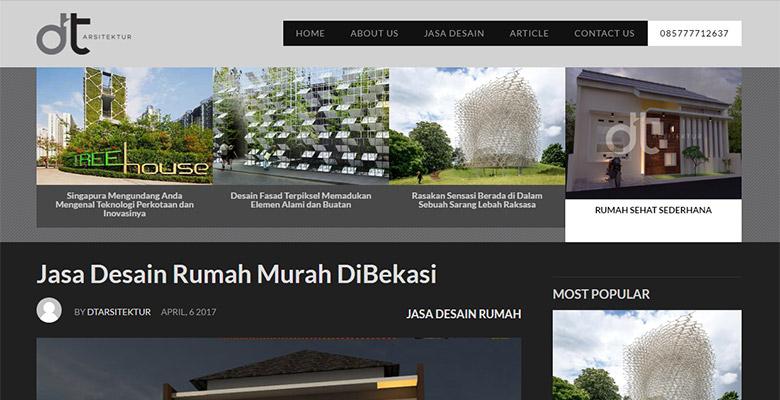 website arsitektur