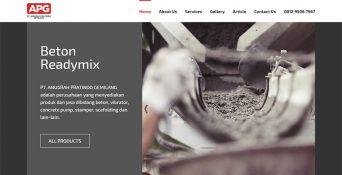 Website Beton Readymix – PT Anugrah Pratindo Gemilang