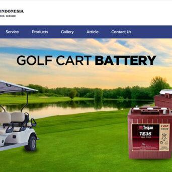 Website Mobil Golf – PT Global Auto Indonesia