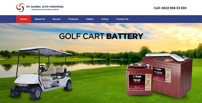 website mobil golf
