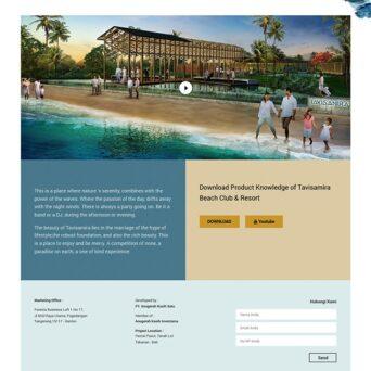Website Resort Bali – Tavisamira Beach Club & Resort