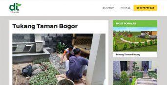 Website Tukang Taman – DT Taman