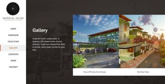 Website Resort Surabaya – Imperial Izumi