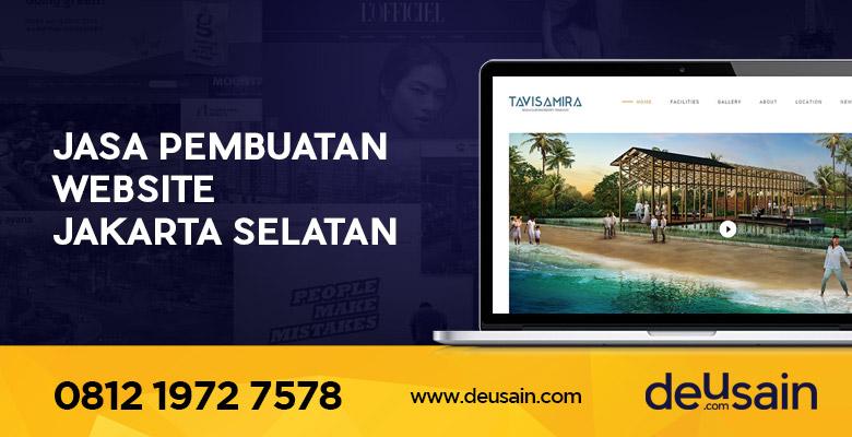 Jasa Pembuatan Website Jakarta Selatan