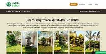 Website Tukang Taman – Indah Subur