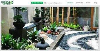 Website Tukang Taman – Pesona Taman