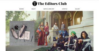 Website Berita & Gaya Hidup – The Editors Club
