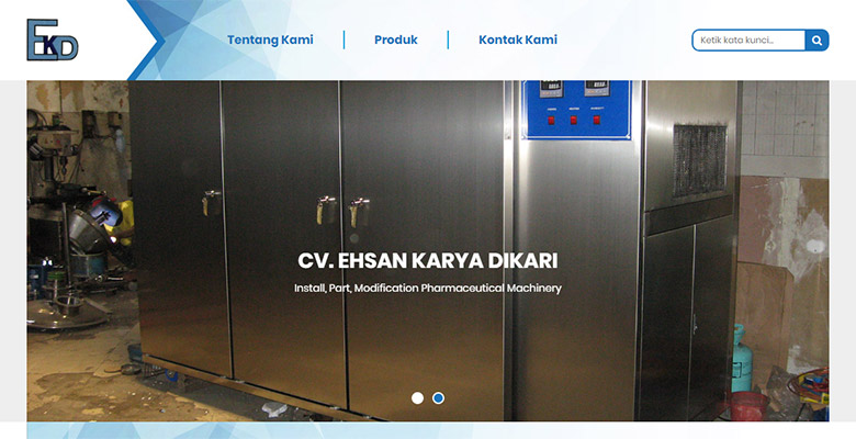 website mesin farmasi