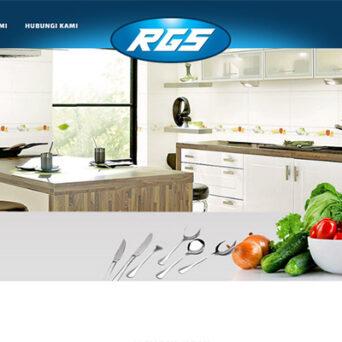 Website Perabot Dapur – RGS
