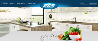 Website Perabot Dapur – RGS