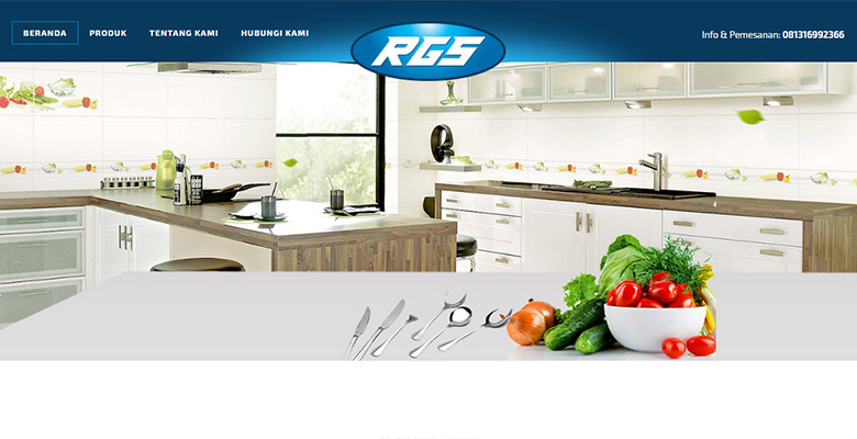 website perabot dapur