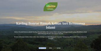 Website Rumah Kebun – BonRoe