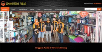Website Audio Variasi Mobil – Linggom Audio