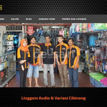 Website Audio Variasi Mobil – Linggom Audio