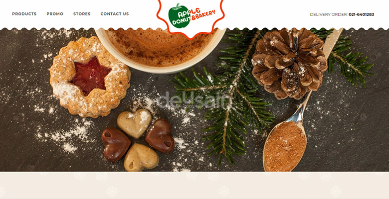 website cake bakery