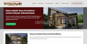 Website Desain Arsitektur – Bunbun Studio
