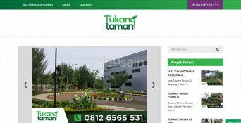 Website Jasa Pembuatan Taman
