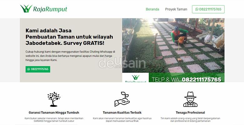 website tukang taman
