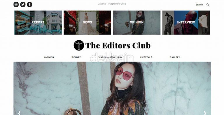 website fashion magazine