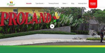 Website Perumahan – Proland Cibinong