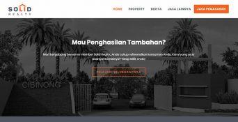 Website Property Cibinong – Solid Realty