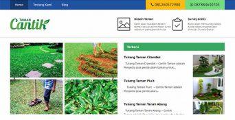 Website Tukang Taman – Cantik Taman