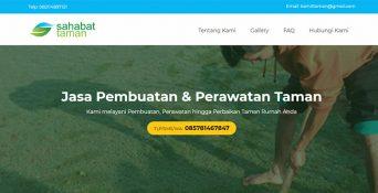 Website Jasa Pembuatan & Perawatan Taman