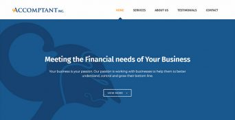 Website Konsultan Finansial – Accomptant Inc.