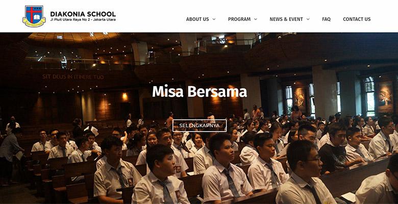 website sekolah jakarta